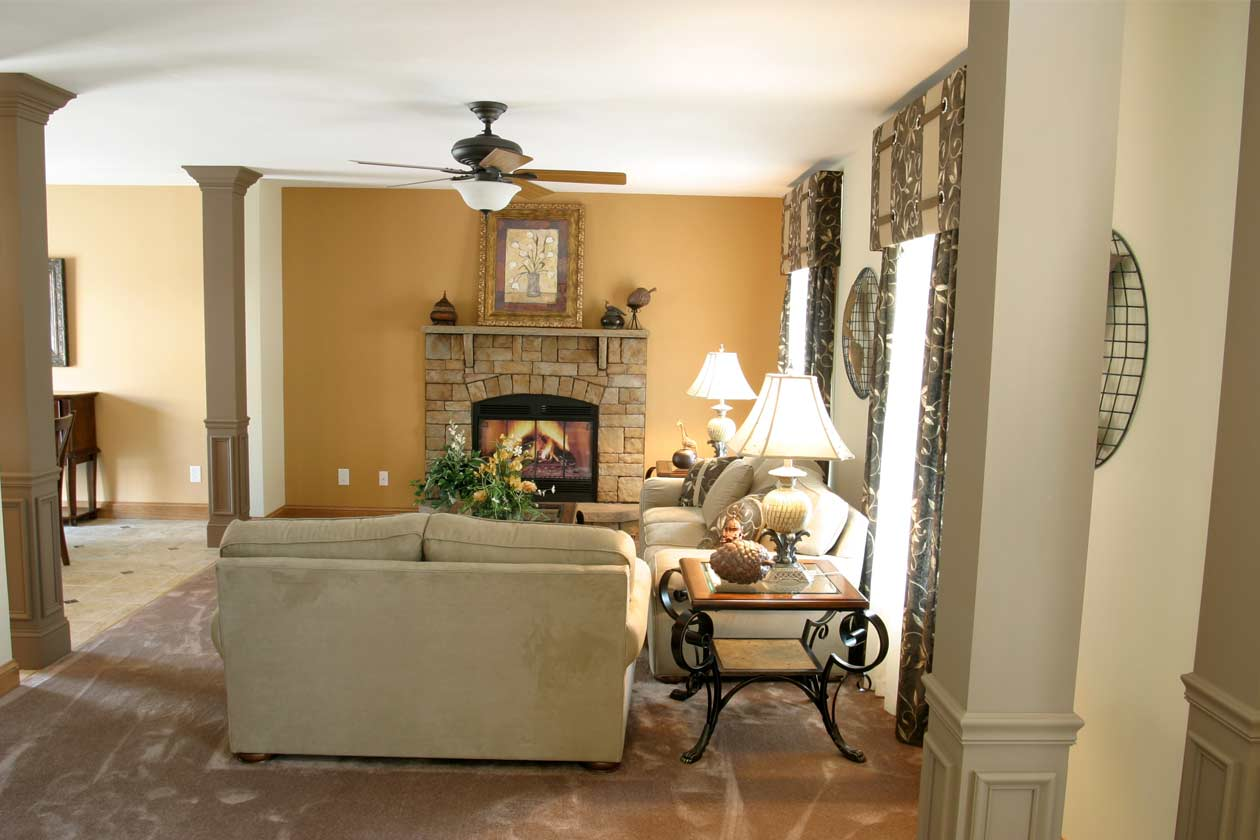 Bridgewater Open Floor Plan Family Room