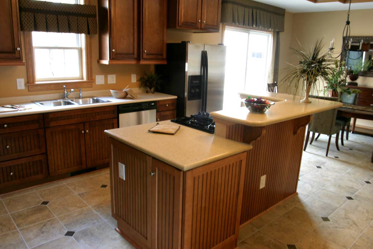 Bridgewater Open Floor Plan Kitchen