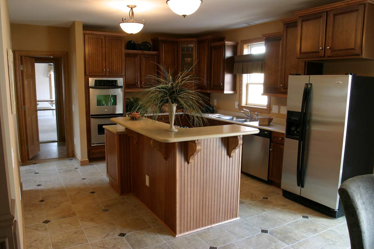 Bridgewater Open Floor Plan Kitchen Island