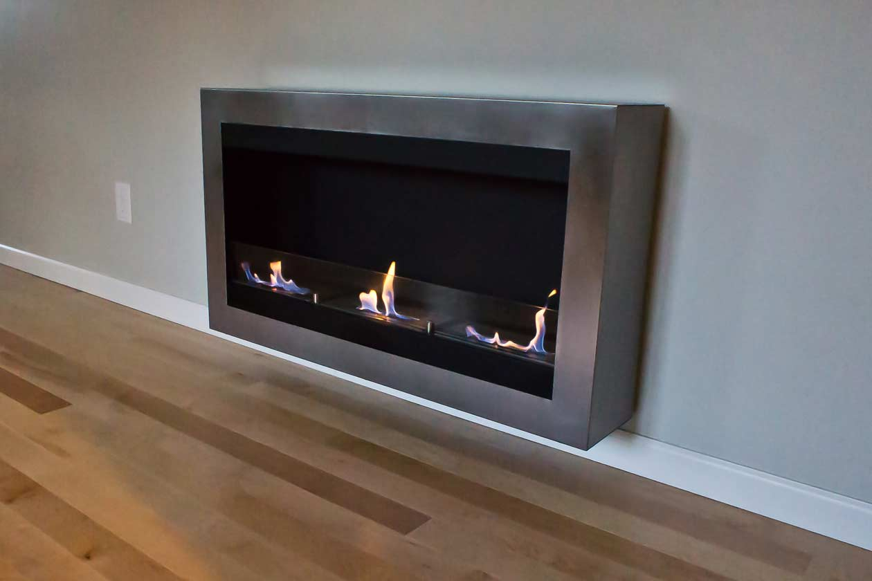 Urban House Fire Place