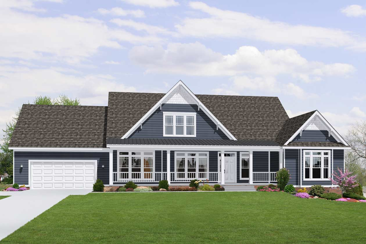 Ecoranch custom new home construction floor plans Modern home construction
