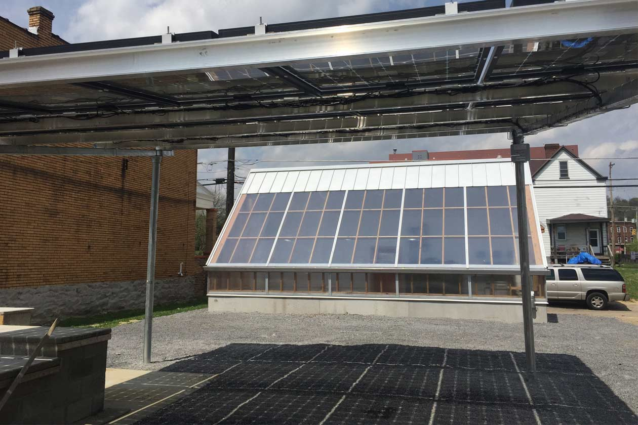 Solar Powered Off-Grid Greenhouse With Rainwater Collection