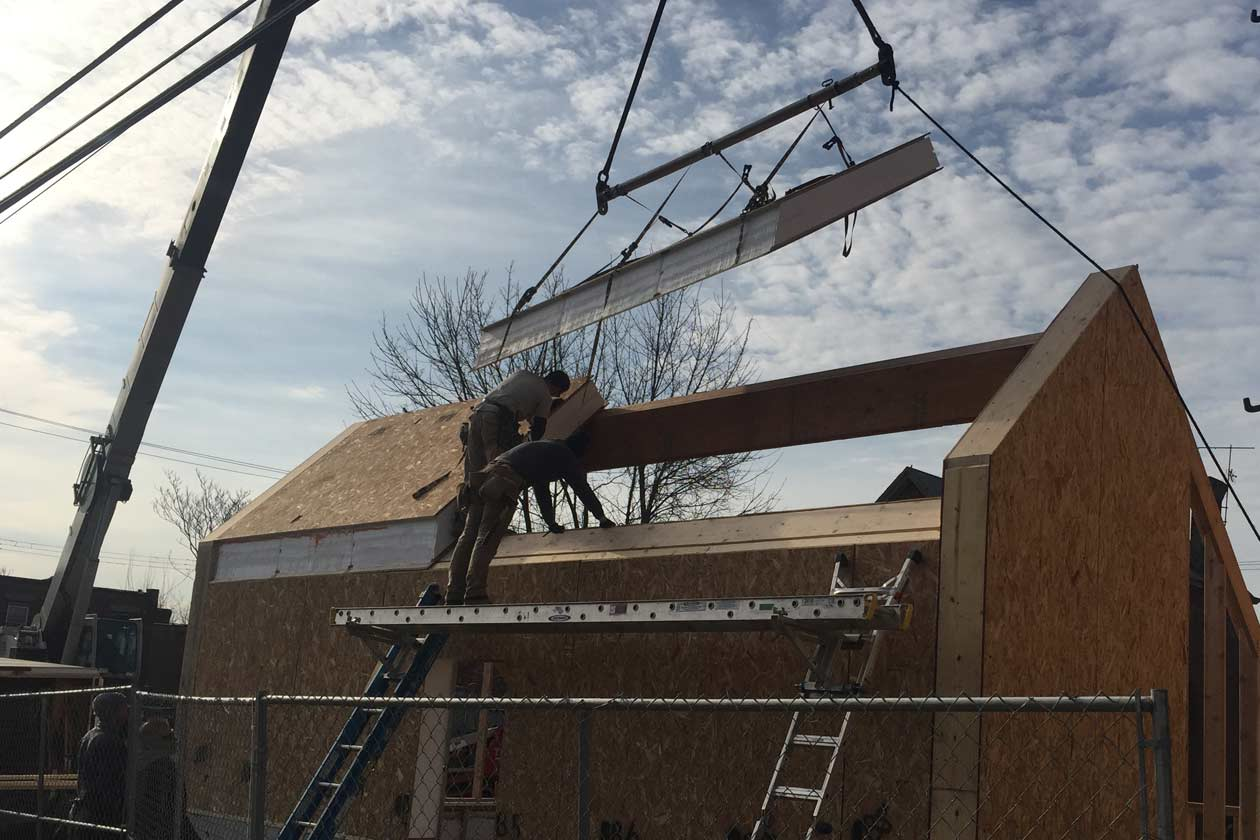 Construction for glass panels - Off Grid Solar Powered Greenhouse in Homewood