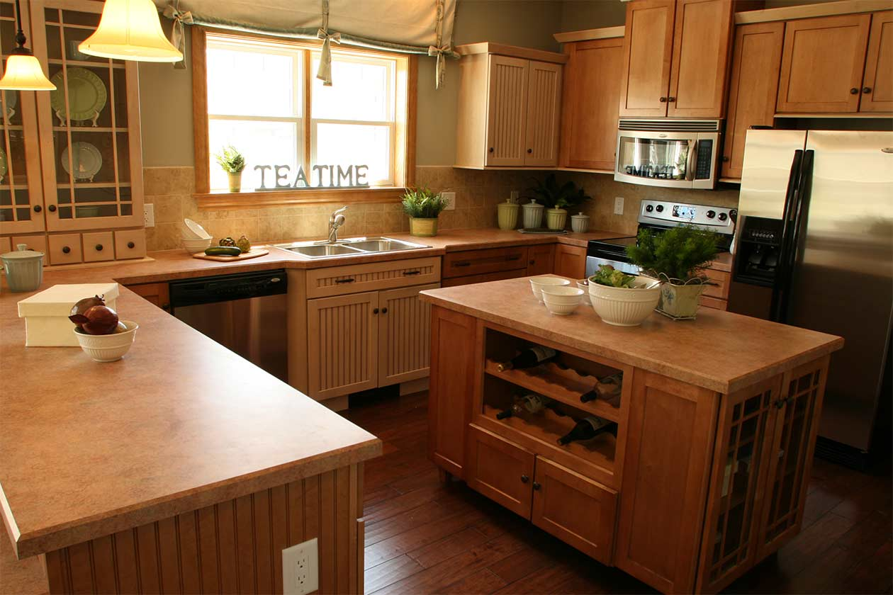 Rockport Kitchen With Island