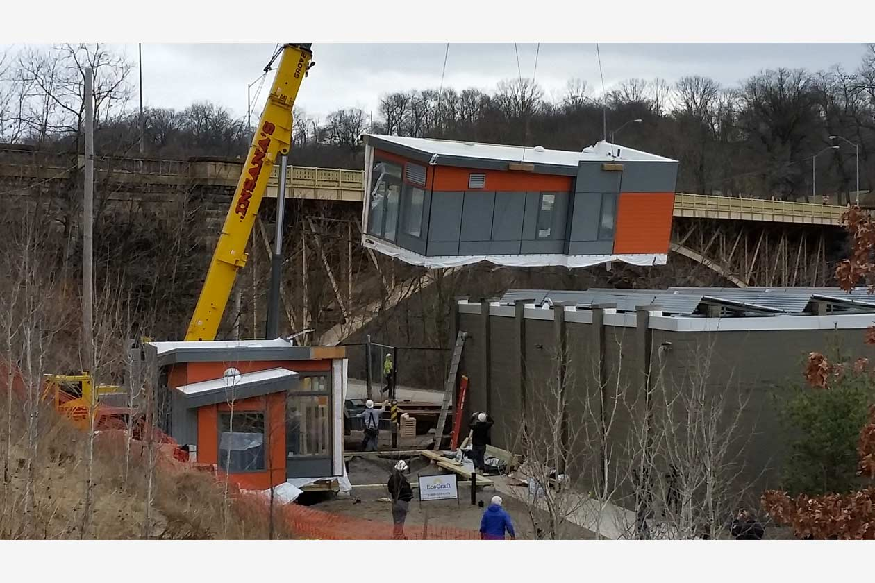 Seed Modular Classroom ~ Sustainable commercial construction green builder